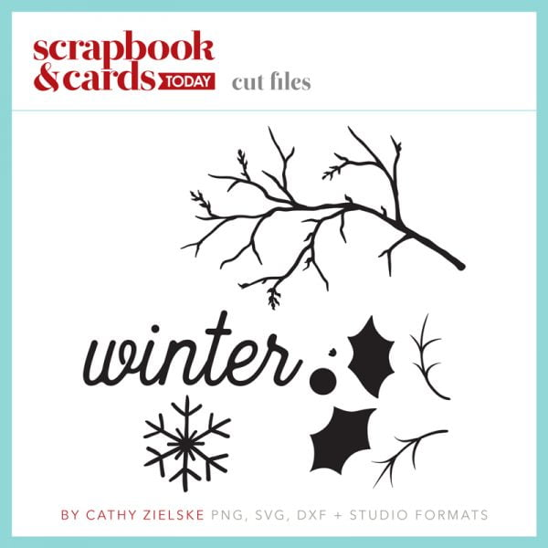 Winter 2017 Free Cut Files from Scrapbook & Cards Today magazine