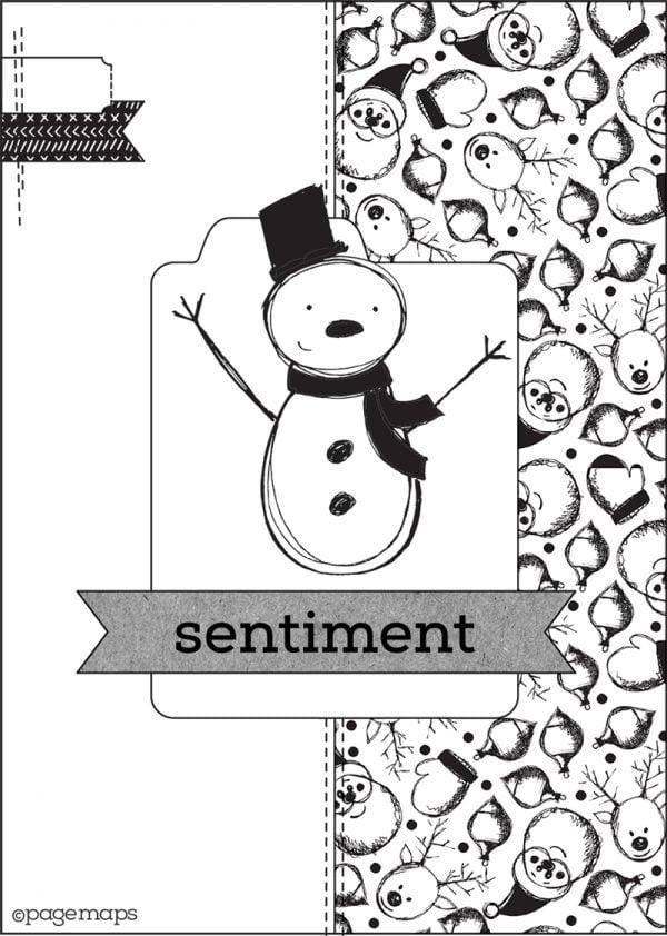 PageMaps Card Sketch - Scrapbook & Cards Today magazine Winter 2017