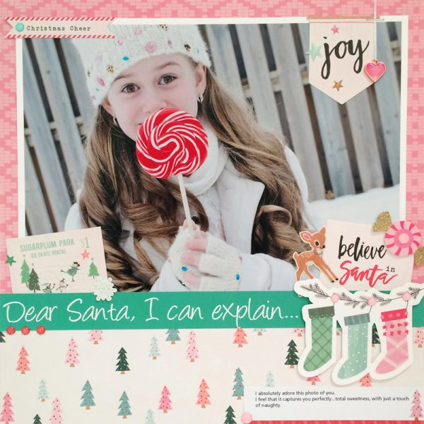 Dear Santa by Sheri Reguly for Scrapbook & Cards Today magazine