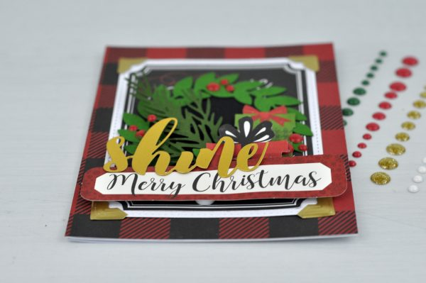 Shine Card by Jen Gallacher for Scrapbook & Cards Today