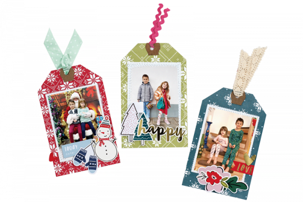 Paige Evans Holiday Tags for Scrapbook & Cards Today