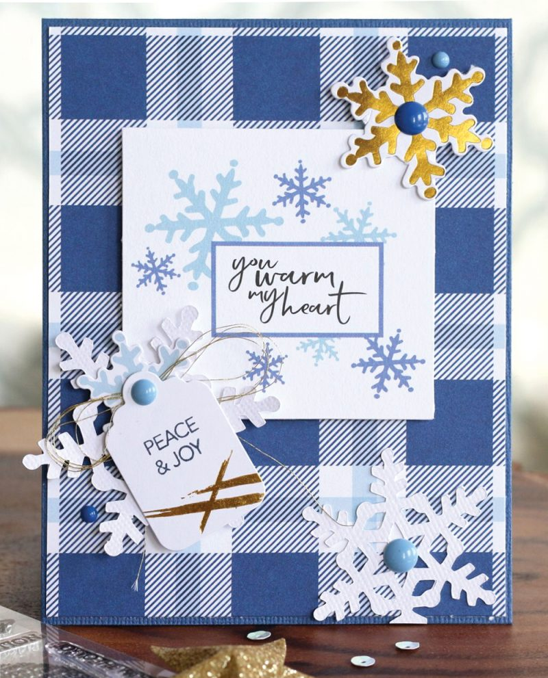 Winter 2017 Sleigh Bells Card by Meghann Andrew