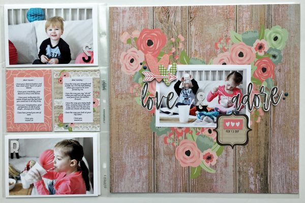 SCT Winter 2017 Life in Pockets Kit - Layout by Jess Forster