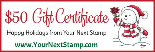 SCT 12 Days of Holiday Giving - Your Next Stamp