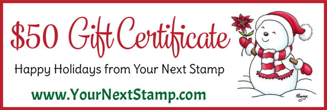 Your Next Stamp gift certificate