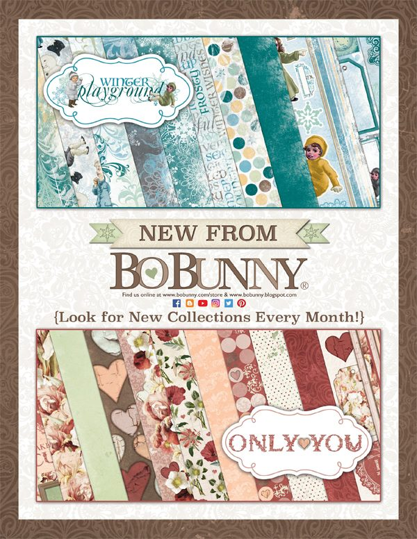 BoBunny Ad for Scrapbook & Cards Today Winter 2017 issue