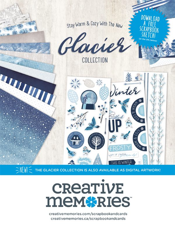 Creative Memories Ad for Scrapbook & Cards Today Winter 2017 issue