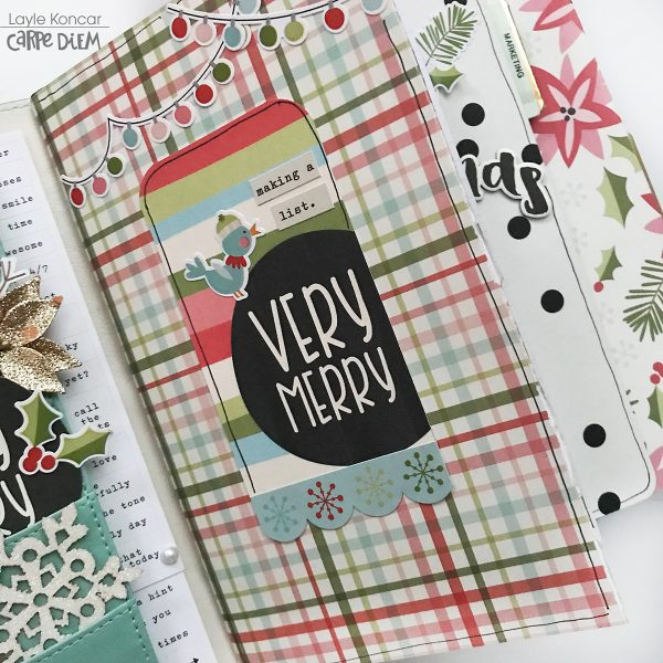 Carpe Diem Planner by Layle Koncar for Simple Stories