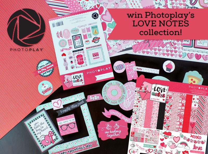Photoplay Paper Love Notes collection