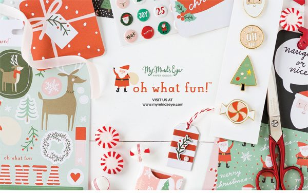 My Mind's Eye Ad for Scrapbook & Cards Today Winter 2017 issue