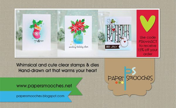 Paper Smooches Ad for Scrapbook & Cards Today Winter 2017 issue