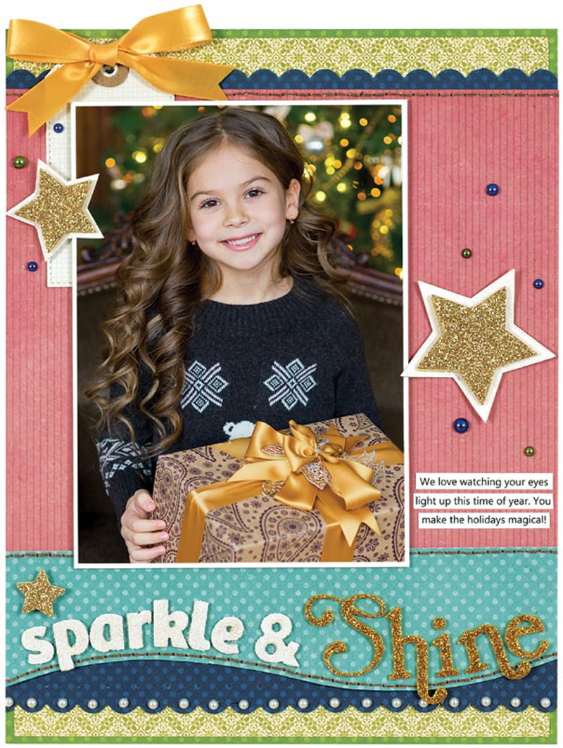 Sparkle & Shine by Stacy Cohen for Scrapbook & Cards Today