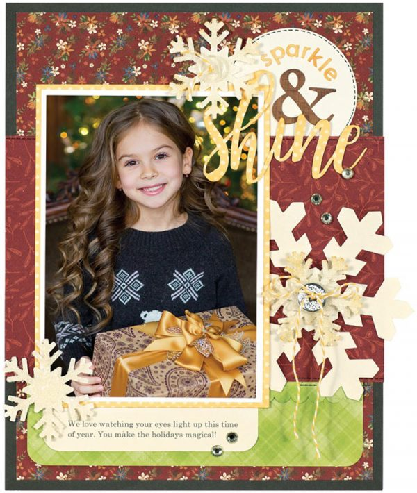 Sparkle & Shine by Kelly Goree for Scrapbook & Cards Today