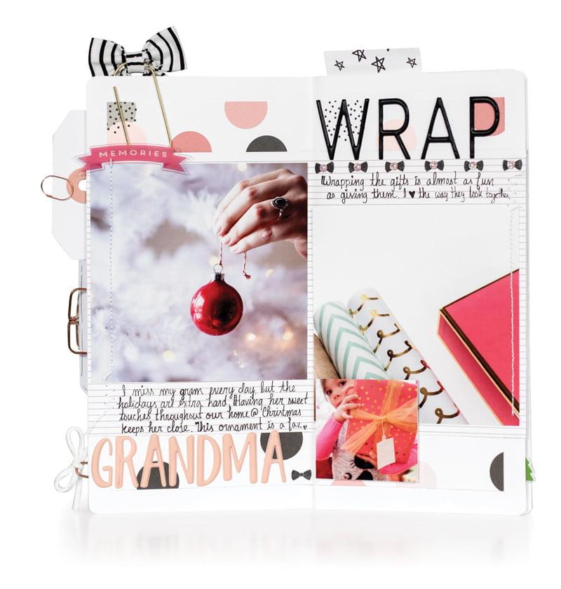 December 2016 Wrap by Megan Hoeppner for Scrapbook & Cards Today