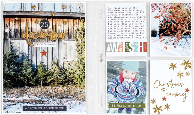 A December To Remember by Melanie Blackburn for Scrapbook & Cards Today