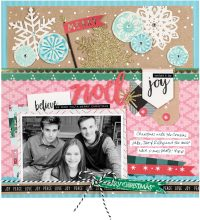 Merry Noel by Vicki Boutin for Scrapbook & Cards Today