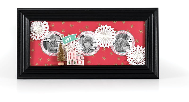 Photo Decor Christmas Joy by Aly Dosdall for Scrapbook & Cards Today
