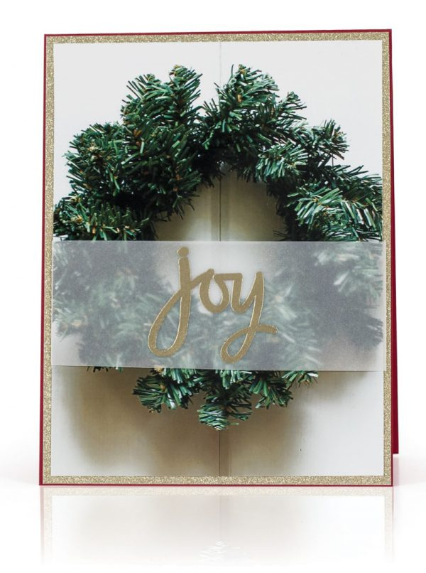 Photo Card Joy by Kimberly Crawford for Scrapbook & Cards Today