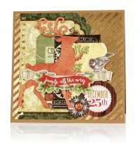 Jingle All The Way by Marina Gridasova for Scrapbook & Cards Today