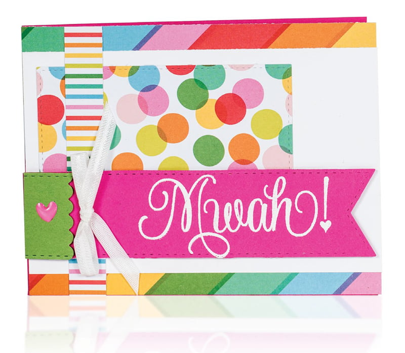 Mwah! by Susan Opel for Scrapbook & Cards Today