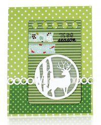 Tis The Season by Karin Akesdotter for Scrapbook & Cards Today