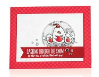 Dashing Through The Snow by Cathy Zielske for Scrapbook & Cards Today