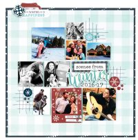 Scenes From Winter by Lisa Dickinson for Scrapbook & Cards Today