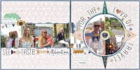For The Love Of Travel by Meghann Andrew for Scrapbook & Cards Today