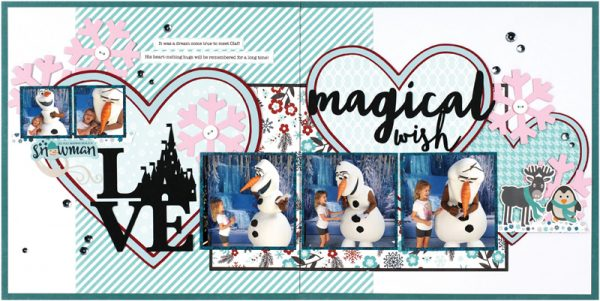 Magical Wish by Virginia Nebel for Scrapbook & Cards Today