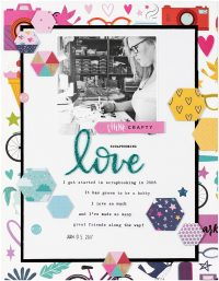 Scrapbooking Love by Jen Chapin for Scrapbook & Cards Today