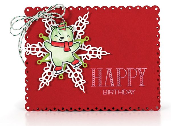 Happy Birthday card by Latisha Yoast for Scrapbook & Cards Today