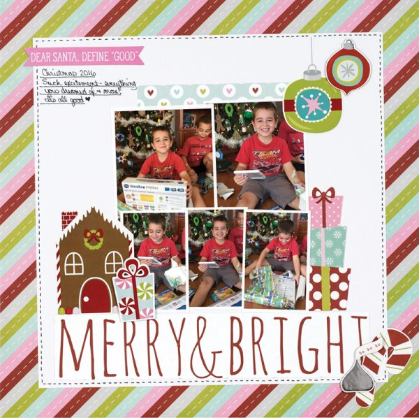 Merry & Bright by Wendy Antenucci for Scrapbook & Cards Today