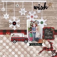 Wish by Lee-Anne Thornton for Scrapbook & Cards Today