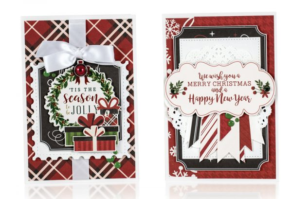 Holiday Cards by Anya Lunchenko for Scrapbook & Cards Today