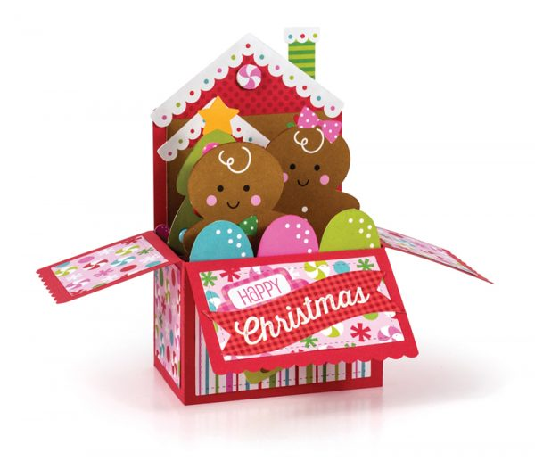 Gingerbread Friends by Kathleen Stewart for Scrapbook & Cards Today