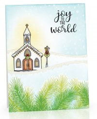 Joy To The World by Mendi Yoshikawa for Scrapbook & Cards Today