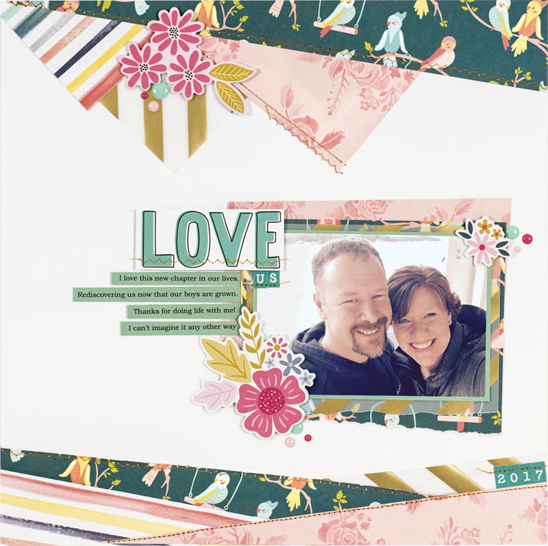 Love Us by Tammy Hawes for Scrapbook & Cards Today