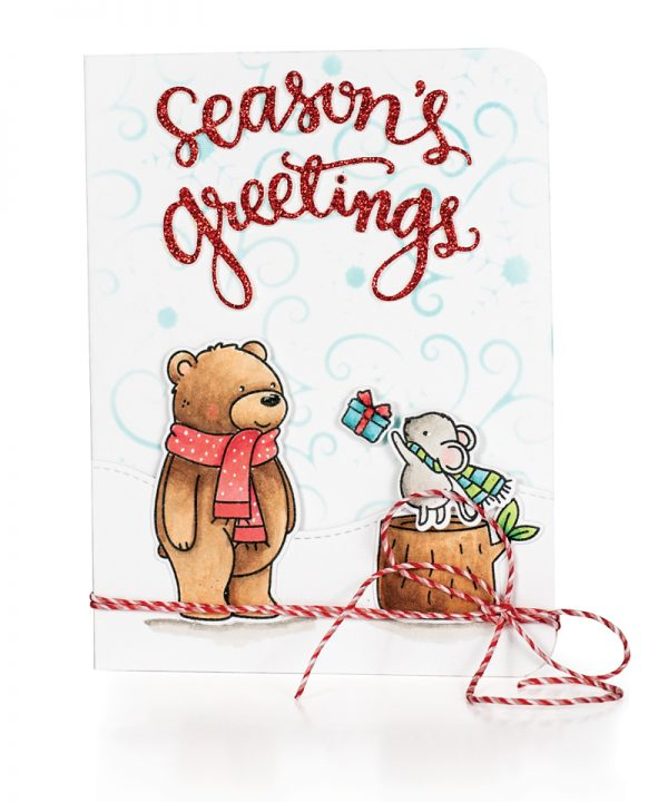 Seasons Greetings by Mari Clarke for Scrapbook & Cards Today