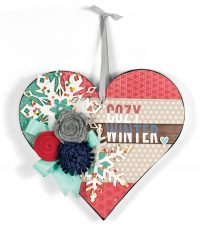 Cozy Winter by Patty Folchert for Scrapbook & Cards Today