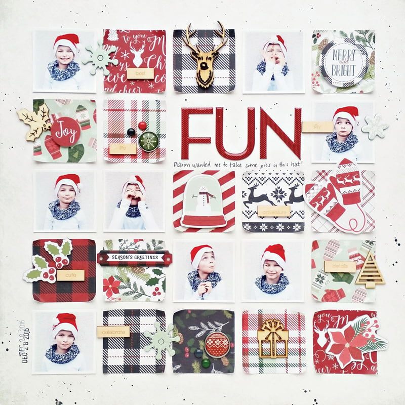 Fun by Zsoka Marko for Scrapbook & Cards Today