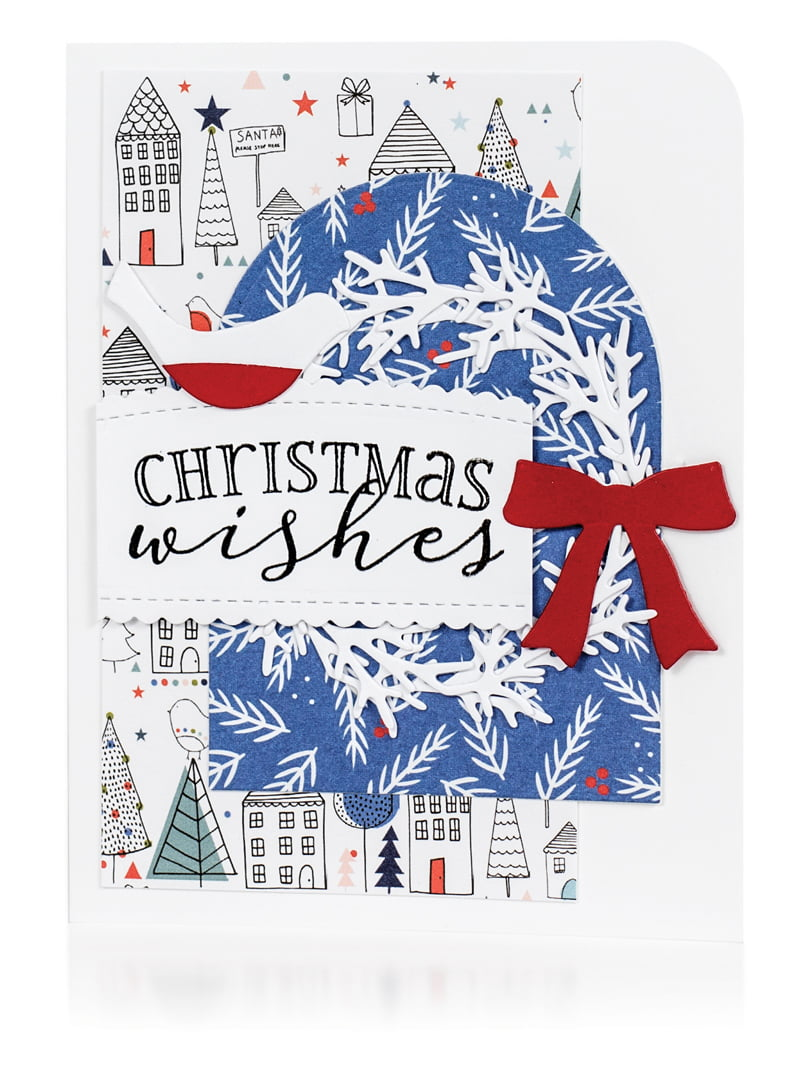 Christmas Wishes by Michele Ferguson for Scrapbook & Cards Today