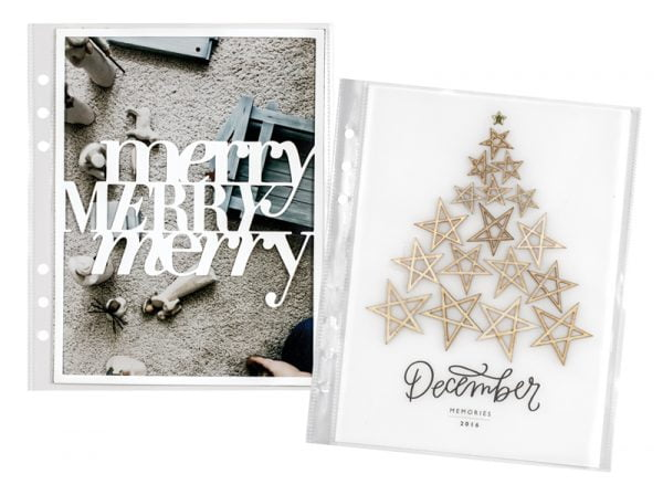 Merry Merry Merry by Lisa Varshine for Scrapbook & Cards Today