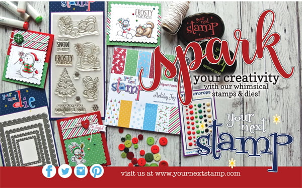 Your Next Stamp Ad for Scrapbook & Cards Today Winter 2017 issue