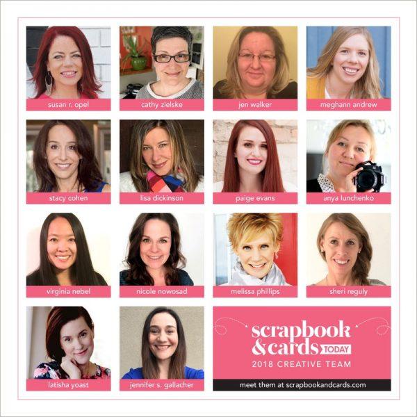 2018 Scrapbook & Cards Today Creative Team