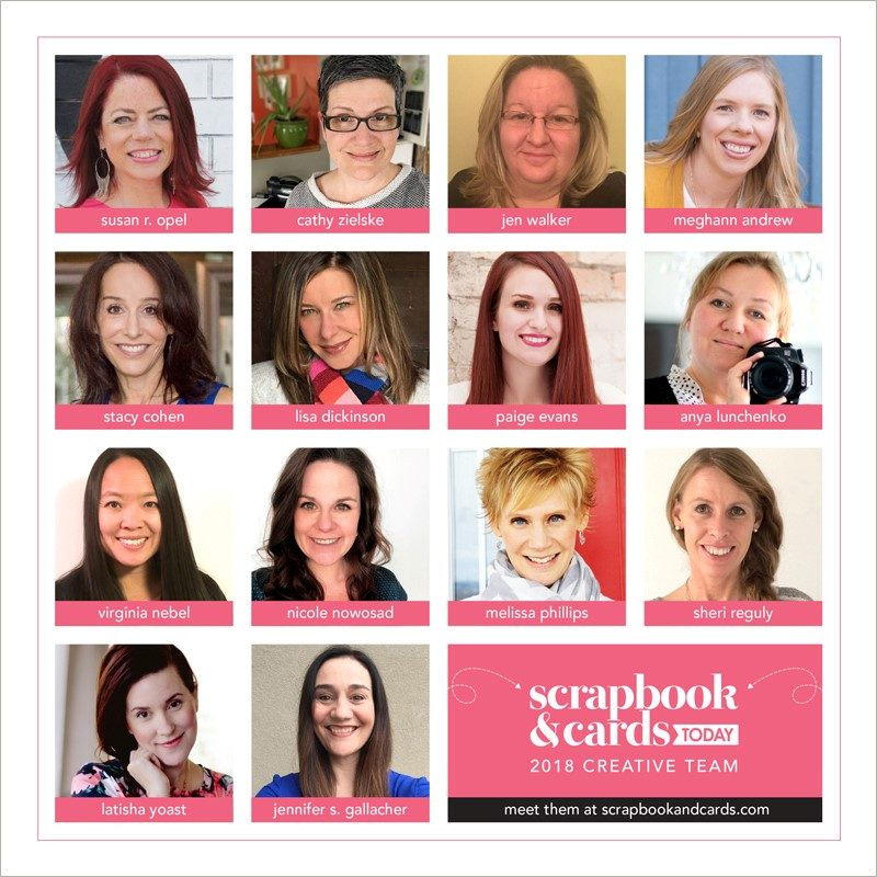 2018 Scrapbook & Cards Today Creative Team