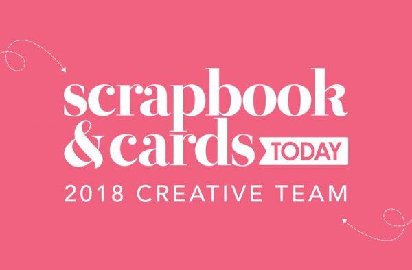 2018 Scrapbook & Cards Today Creative Team Logo