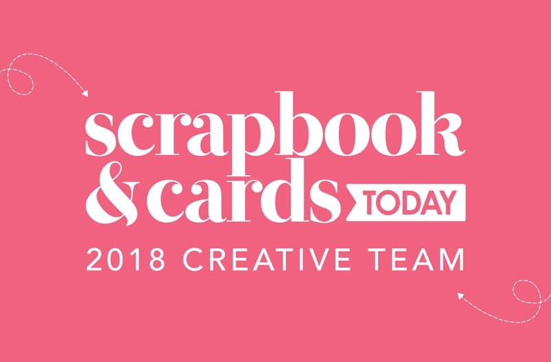 2018 Scrapbook & Cards Today Creative Team Logo