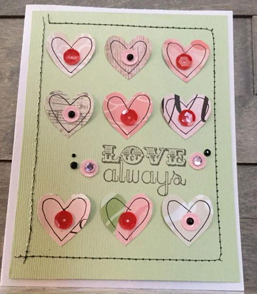 Card by Caroline Plante Leveille