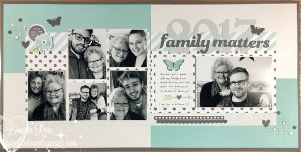Layout by Brenda Rose
