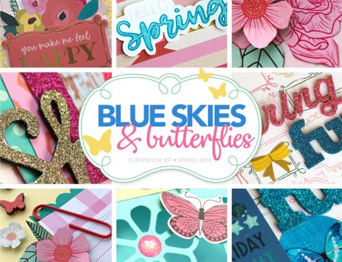 Blue Skies & Butterflies kit GIVEAWAY!